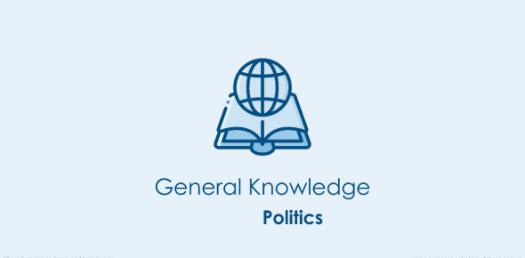 Politics And General Knowledge Questions! Trivia Quiz