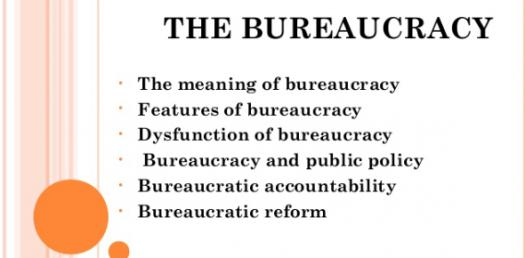 This Is Quiz #3 On Bureaucracy
