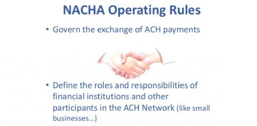 Nacha Operating Rules And Guidelines! Trivia Quiz