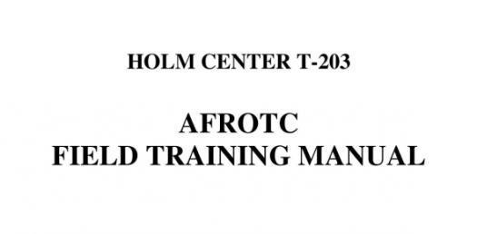 The Field Training Manual 2012 Quiz!