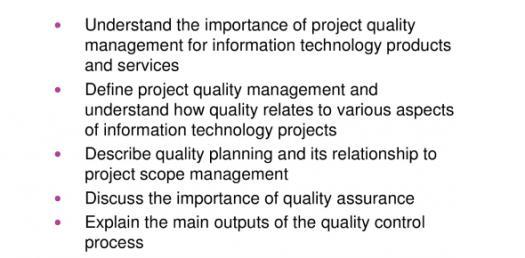 Quiz: Project Quality Management Planning Practice Questions!