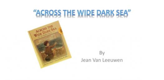 Vocabulary Quiz: Across The Wide Dark Sea By Jean Van Leeuwen