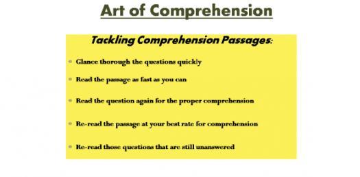 Comprehension Trivia: Practice Test Questions Quiz