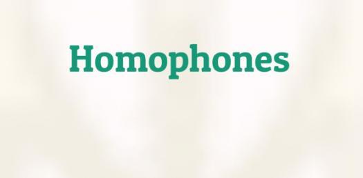 Homophones Questions! Trivia Quiz