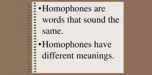 Homophone Trivia: How