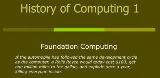 History Of Computing! Test Your Knowledge! Trivia Quiz
