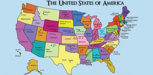 U.S. States And Capitals Questions! Trivia Quiz