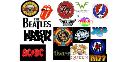 Can You Guess These Band Logos? Trivia Quiz