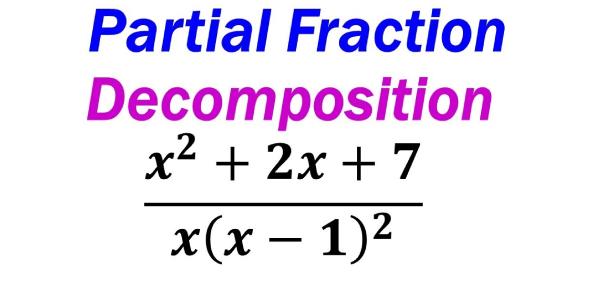 Math Trivia Quiz On Partial Fraction Decomposition