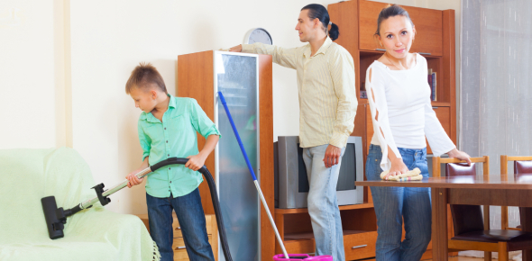 Household Chores Quiz Questions