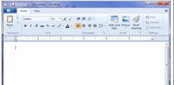 Basic Wordpad Test: Quiz!