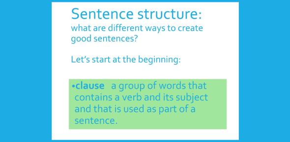 Sentence Structure Test: Grammar Quiz
