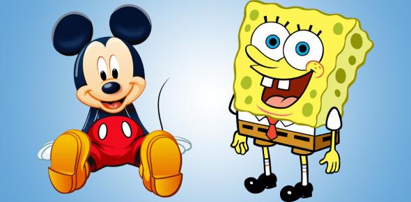 Mickey Mouse To Sponge Bob: What Cartoon Character Am I?