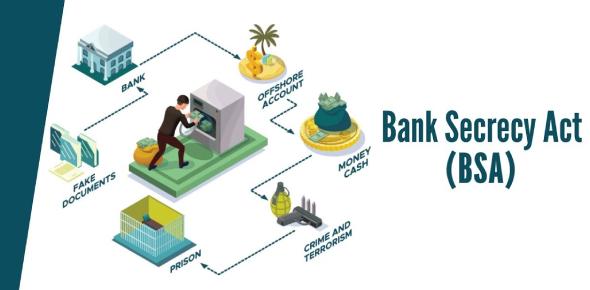 The Bank Secrecy Act Quiz! Trivia