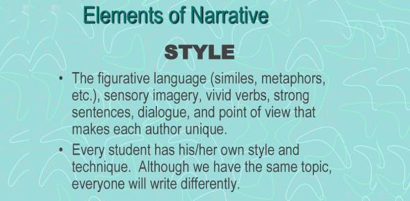 Narrative Elements And Figurative Language! Trivia Quiz