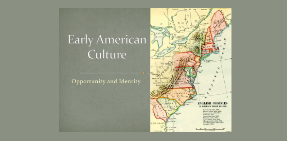 Early Culture Of The America! Trivia Quiz