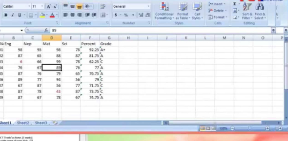 The Microsoft Excel Exam: MCQ Quiz