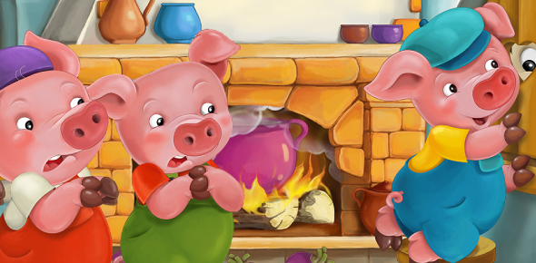 Reading Quiz On The Three Little Pigs