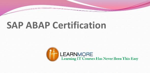 SAP ABAP Online Test Questions