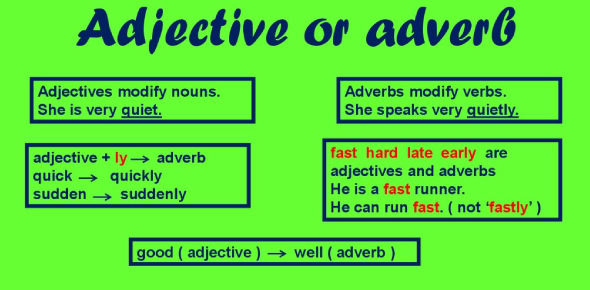 Enhance Your English With This Adjective Or Adverb Quiz