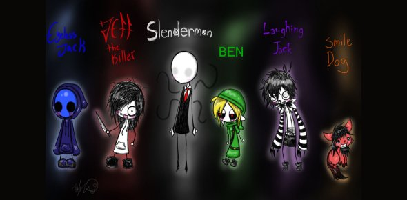 Take The Quiz & Find Out Which Creepypasta Character Are You?