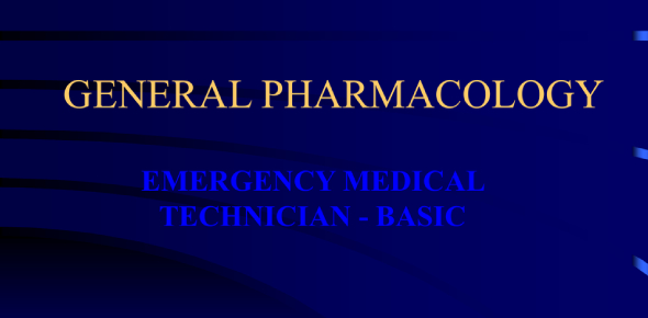 Can You Pass This EMT General Pharmacology Test?