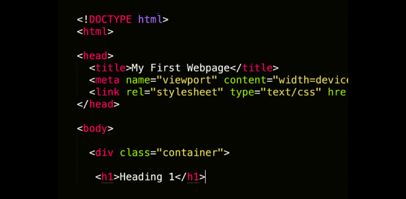 Want To Be A Coder? Pass This HTML Test