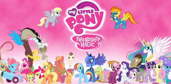 Which MLP:FIM Background My Little Pony?