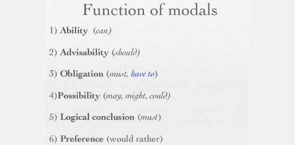 Grammar Quiz: Modals Of Preference! Trivia Questions