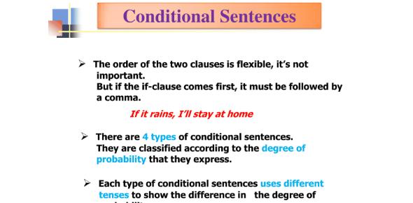 Quiz: Take A Conditional Sentences Trivia Test!