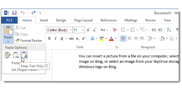 Microsoft Word 2013 Advanced Features