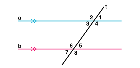 Lines And Angles For 9th-garde Students
