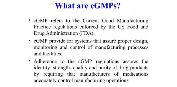 cGMP Quiz: Current Good Manufacturing Practices! Trivia Test