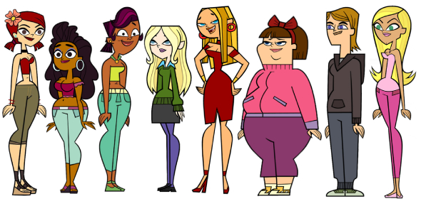 What Total Drama Character Do You Look Like? (Girls Only)