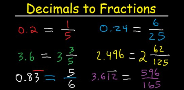 Can You Pass This Decimal To Fraction Quiz?