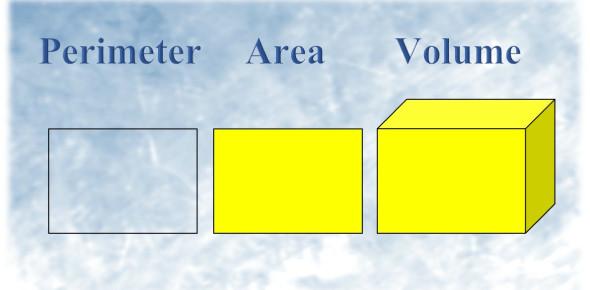 Perimeter, Area, & Volume Quiz