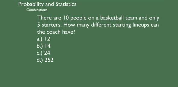 Statistics And Probability Exam! Trivia Quiz