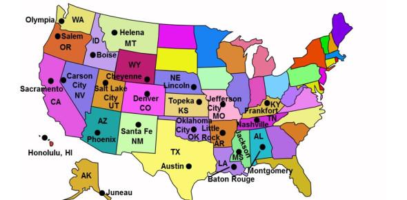 State Capitals Multiple Choice Quiz! Trivia