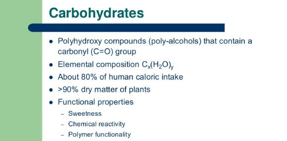 Biochem Carbohydrates