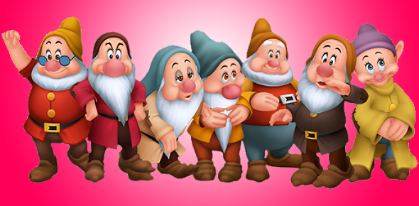 Can You Identify Name Of The Seven Dwarfs?