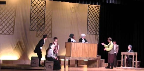 The Crucible Play Act IV : TrIVia Quiz