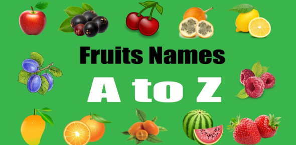 Find The Fruit Name Using The Picture Test No:2