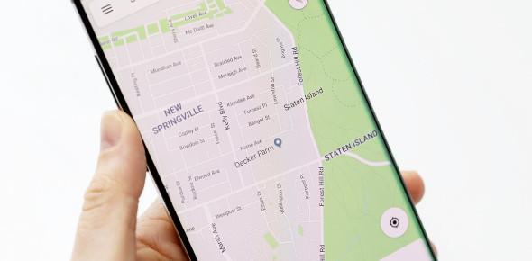 Recognize Google Maps Places