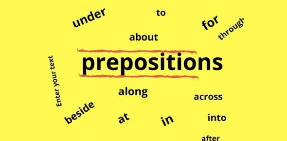Basic Preposition Quiz! Test Your Grammar