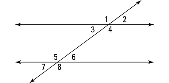 Parallel Lines And Transversals Quiz Questions
