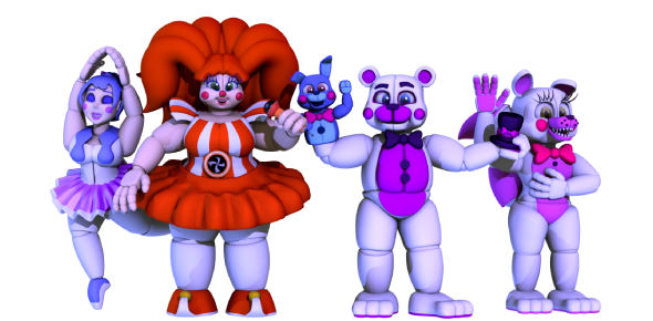 Which Sister Location Animatronic Are You?