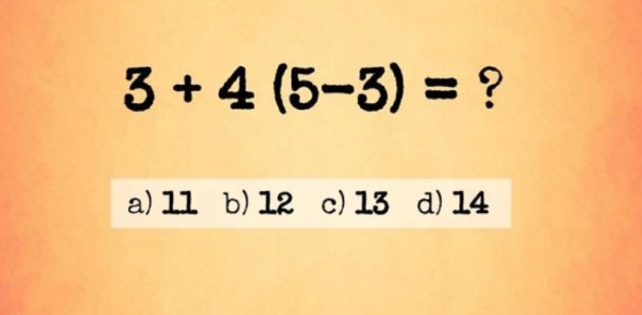 A Simple Maths Quiz For 2nd Grade!