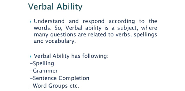 Verbal Ability Test: Interesting Questions! Trivia Quiz