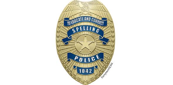 Law Enforcement Spelling/Grammar Test
