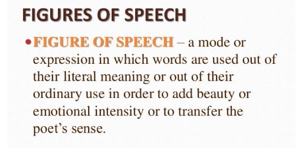 English Grammar Quiz: Identifying Figures Of Speech